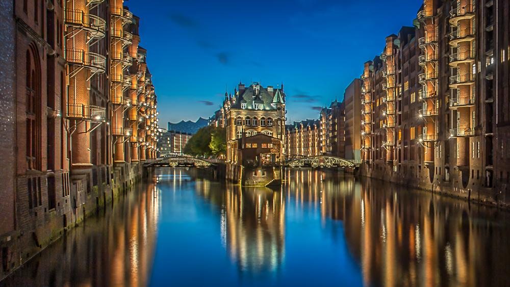 Hamburg Wasserschloß
