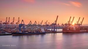 Hafen-sundown